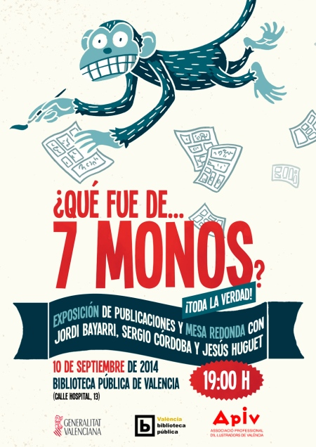 cartell 7 monos